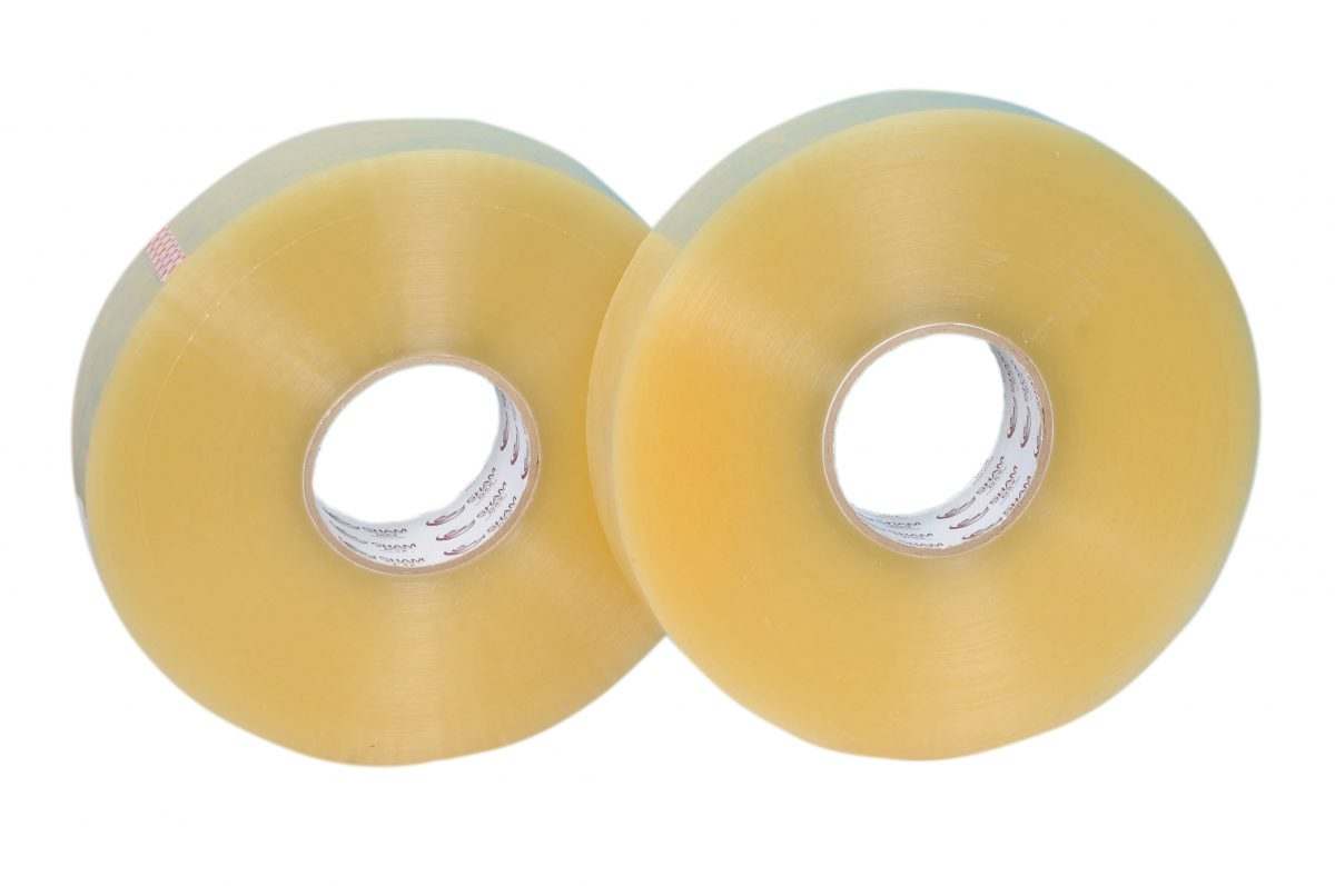 bopp clear Adhesive tapes 1000 yards industrial use automatic packing